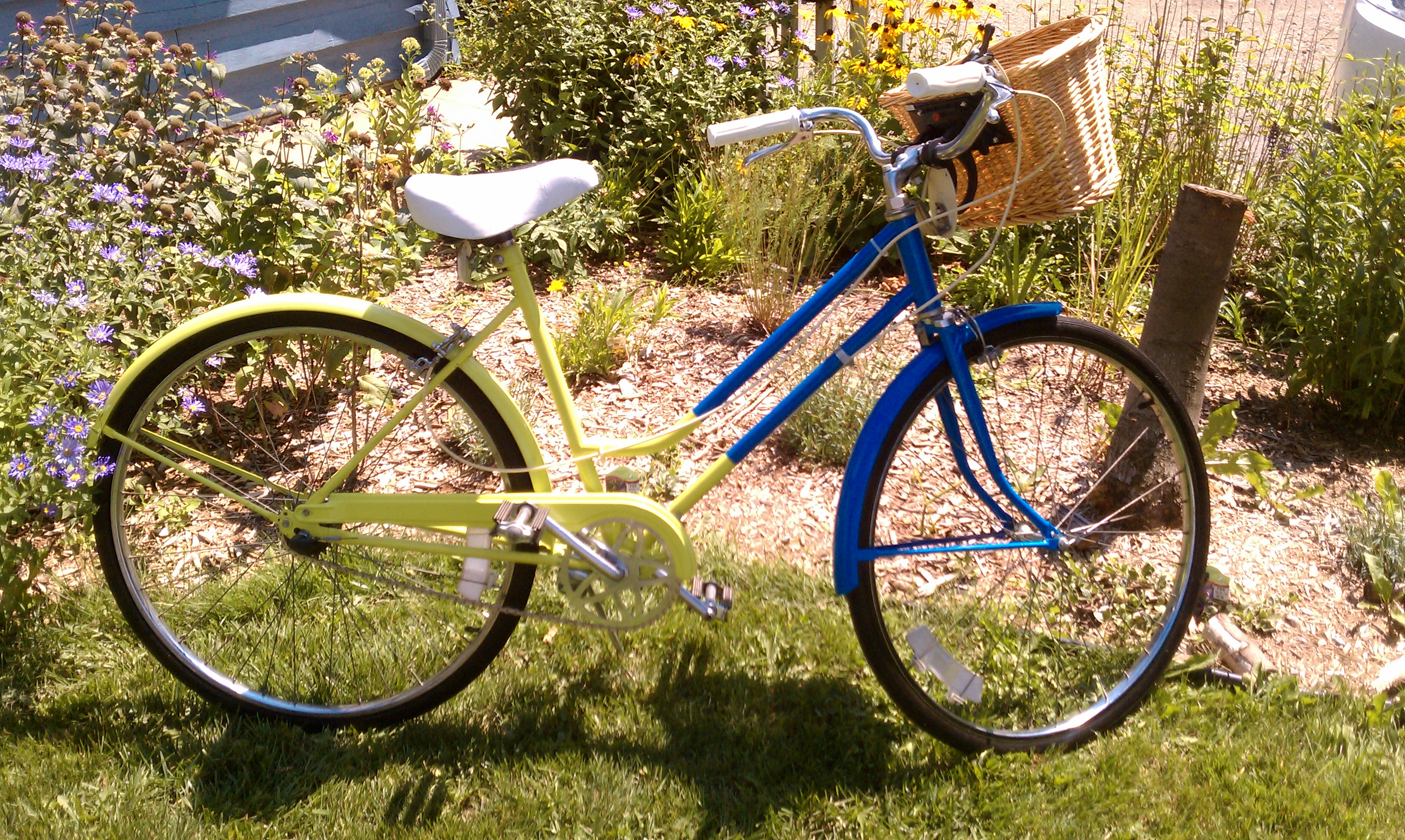 Jessica's Rebuilt Bicycle